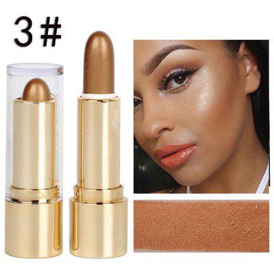 DNM three-dimensional high-light repair capacity stick long-lasting silkworm bronze makeup concealer