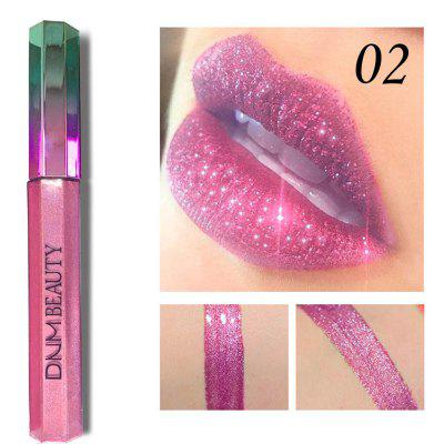 DNM Diamond Symphony Chameleon Waterproof Metal Pearl Lip Gloss Lipstick