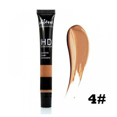 5 color concealer face makeup repair capacity stereo brightening lasting liquid foundation