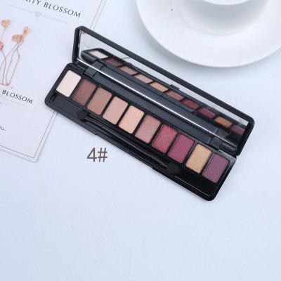 10 color set with brush eyeshadow tray lasting natural fashion makeup eye shadow tray