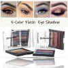5-color fashion eye shadow tray beauty waterproof lasting stage makeup eye shadow