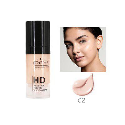 Popfeel liquid foundation waterproof moisturizing cream concealer foundation cosmetics