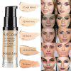 Moisturizing concealer foundation waterproof lasting create nude makeup effect foundation cosmetics