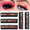 10 color eyeshadow palette with brush fashion matte pearl flash waterproof durable eye makeup