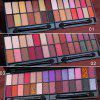 28 color eyeshadow dish earth color matte pearlescent flash waterproof durable eye cosmetics