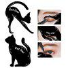 New cat eyeliner card multi-function DIY modeling template eye shadow eyeliner card auxiliary tools