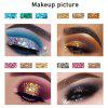 Four-color onion powder waterproof long-lasting sequins eye shadow stage makeup cosmetics