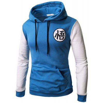 YOONHEEL Mens Sweatshirt Fall Winter Goku Print Casual Baseball Wear Casual Wear W020