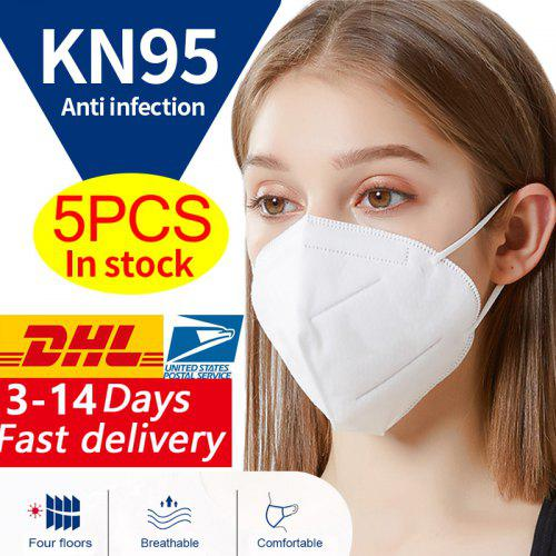 KN95 N95 Surgical Respirator Antibacterial Face Mask Virus Protection with Melt_blown Filter