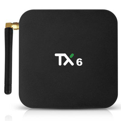 TX6 Android 9.0 TV Kutusu 4K HDR Ultra HD Video 4GB RAM 64GB ROM Çift bant 2.4G 5G WiFi USB 3.0