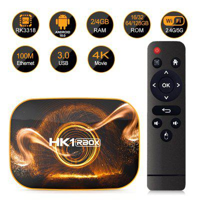 HK1 RBOX TV BOX Android 10.0 RK3318 4GB- 128GB HD network player dual-band WIFI Image