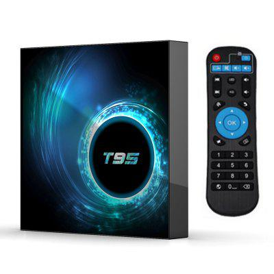 T95 H616 tvbox Smart TV Box Allwinner Android 10 4G/32G Wifi BT Quadcore cortex-A53 H616 Dual frequency WIFI2.4G 5.8G Bluetooth tvbox Image