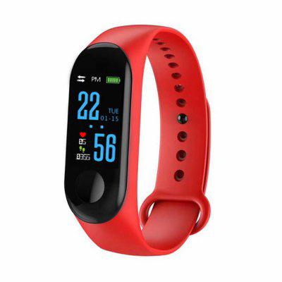 M3 Wristbands Fitness Bracelet Blood Pressure Outdoor IPS Screen Heart Rate Monitor