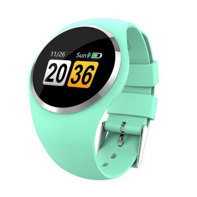 Q1 Smart Wristband Color LCD Screen Blood Pressure Heart Rate Monitor smart band Fitness Trackerv6