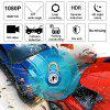 3 inch Car DVR Car Rearview Mirror Driving Recorder 1080P HD Blue Screen Anti-light Multi-Language
