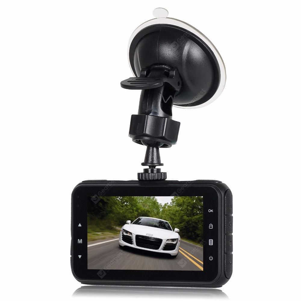 A80 car driving recorder driving video recorder motion detection loop recording full HD 1080P - Black