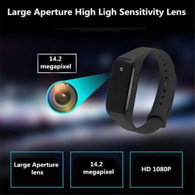 K18 camera bracelet invisible camera 135 degree wide-angle sports bracelet recording