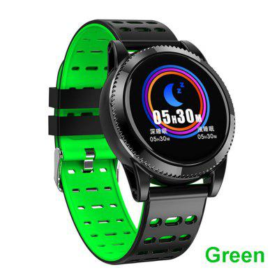 M11 bracelet smart color screen round dial music control heart rate monitor tracker fitness