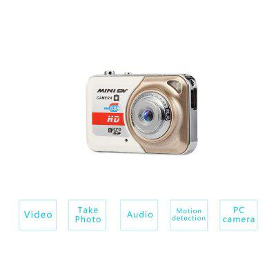 X6 PLUS HD 1080P Mini Camera DV Mini Camera DVR Recorder Long-lasting Recording