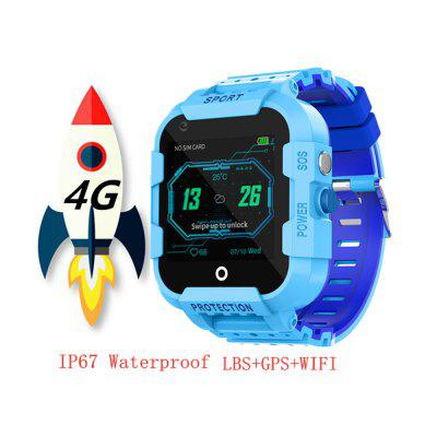 DF39 new 4G children GPS tracker smart watch IP67 waterproof camera