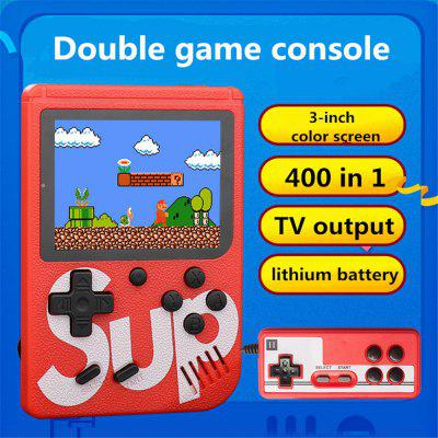 SUP rechargeable 400-in-1 classic handheld game console
