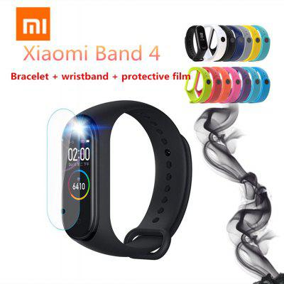 Xiaomi rice belt 4 smart bracelet Chinese version to send wristband and protective film