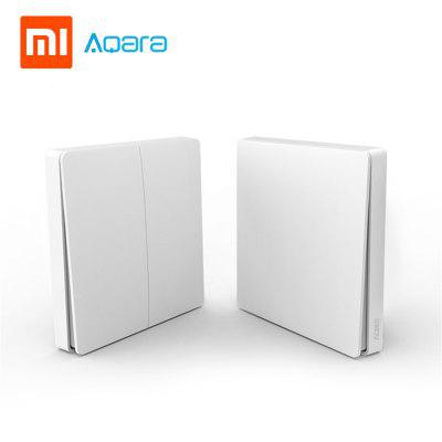 Xiaomi Aqara smart wall switch Zero line version and FireWire version