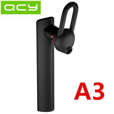 QCY A3 Bluetooth Headset 5.0 Stereo Single Headphones Long Listening Songs