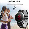 A9 smart bracelet with heart rate monitor ECG PPG blood pressure smart watch