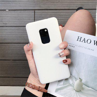 Liquid silicone mobile phone case for Huawei Mate 20 three-sided pure liquid silicone shell