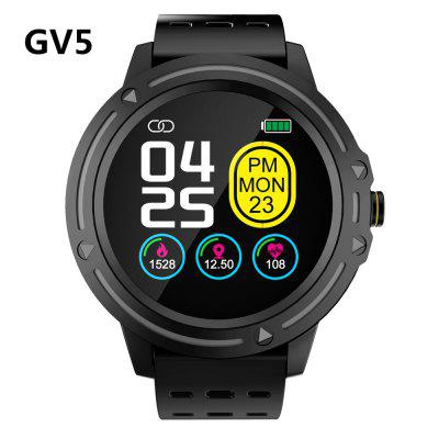 GV5 smart bracelet full touch screen color screen round watch