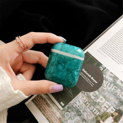 For Shell Marbling AirPods Protective Case  Wireless Bluetooth Headphone Sets Airpods2-