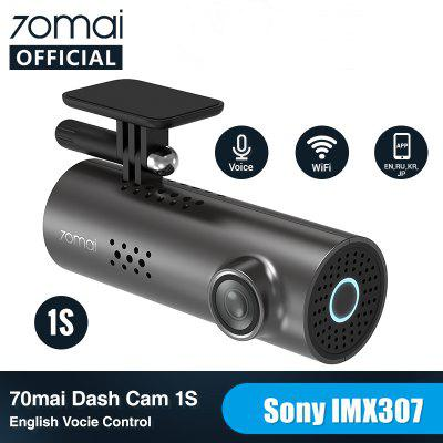 70mai Dash Cam 1S Car DVR Camera Wifi APP English Voice Control 1080P HD Night Vision G-sensor