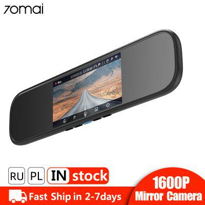 70mai Rearview Mirror Dash Cam Wifi 1600P HD Car DVR Camera Video Recorder 24H Parking Monitor