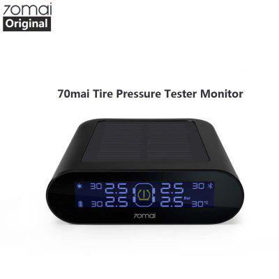 70mai tpms Tire Pressure Monitor 70 mai Car TPMS Safe Security 4Built-in With Gauge Sensor