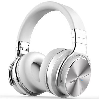 E7Pro Active Noise Cancelling Bluetooth Headphones Wireless Over Ear Stereo Headset with microphone