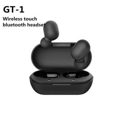 GT-1 Touch Bluetooth Earphones HD Stereo Wireless HeadphonesNoise Cancelling Gaming Headset