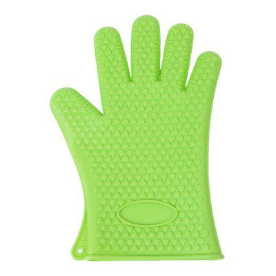 K1 New silicone oven gloves thickening cooking barbecue grill gloves baking gloves kitchen gadgets