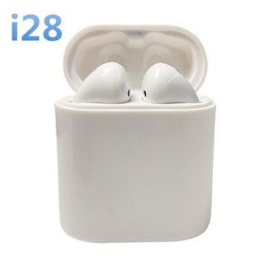 I28 Bluetooth Headset Mini Wireless Motion Control Touch Headphone