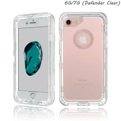 L8 transparent phone case for color transparent shell of IPHONE 7