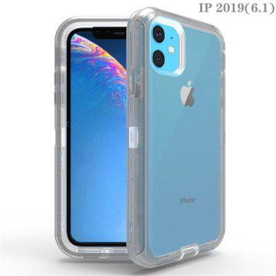 L8 transparent phone case for color transparent shell of IPHONE 11