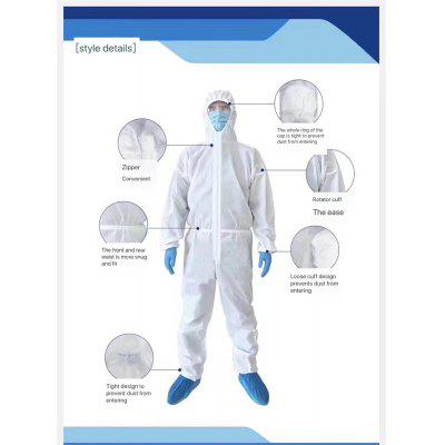 C2 Medical Staff Protective Clothing Disposable Anti-Epidemic Antibacterial Isolation Clothing