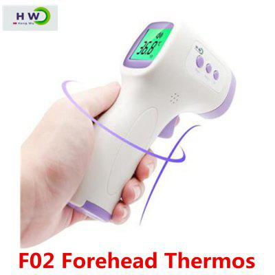 F02 Forehead Thermometer Non-Contact Infrared Thermometer Body Temperature Digital Measurement tool