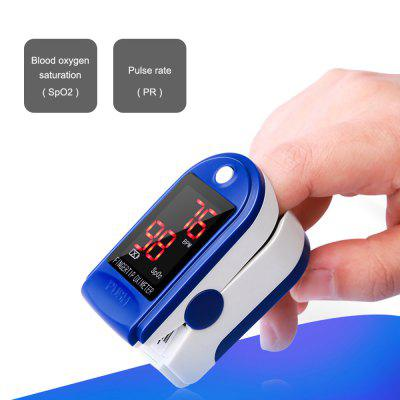 Finger Pulse Pressure Oximeter Oxygen Saturation Instrument Quick Delivery -- Without Battery