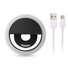 2PCS LED Ring Selfie Light With USB Charging Wired Usb Fill Light For IPhone And Android