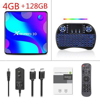 Android 10.0 TV Box X88 PRO 10 TVBOX RK3318 4K Google Store Netflix Youtube Max 4GB RAM 64GB ROM Android 10 Set Top Box Image