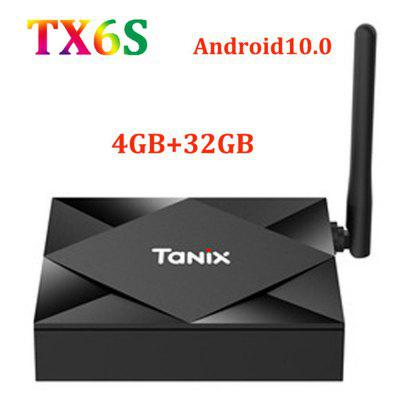 Tanix TX6S Android 10 TV Box Smart TV Device 4GB RAM 32GB ROM 64GB TVBox Allwinner H616 Quad Core H.265 4K Box 2GB 8GB Media Player Image