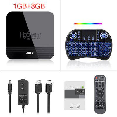 Android TV Box 9.0 H96 Mini H8 RK3228A 2.4G / 5G Dual WIFI media player BT4.0 1GB 8GB 2GB 16GB Smart TV device Set Top Box Image