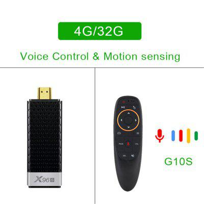 X96S Android 9.0 4GB 32GB TV phone box AIRPLAY / DLNA / Ultra HD 4K TV Stick 2.4G / 5G WIFI BT4.2 USB3.0 Smart Multimedia Player Set-top Box Image