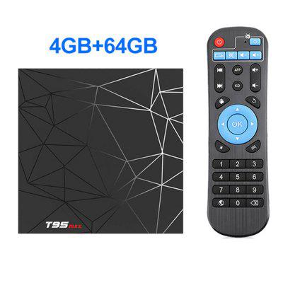 2020 Android Smart TV Device9.0 4GB 16GB 32GB 64GB T95 Max TVBOX Allwinner H6 Quad Core 6K HDR 2.4GHz Wifi T95MAX Android Decoder Image